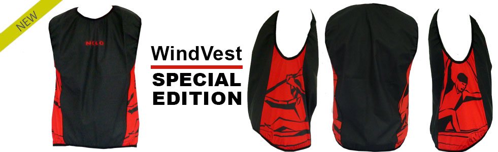 Special edition wind vests